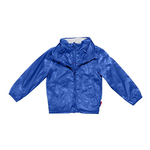 One Kid Transition Road Coat Keeps Boys and Girls Warm and Cozy in Chilly Weather, Car Seat Safe Royal Blue