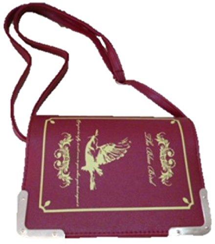 Shikyou  Classical Book Type Shoulderbag Bag  Red