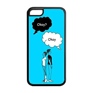 customized Fault in Our Stars for Iphone 5C case 5C-brandy-140155