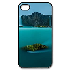Custom Water Hard Back Cover Case for iPhone 4 4S CY509