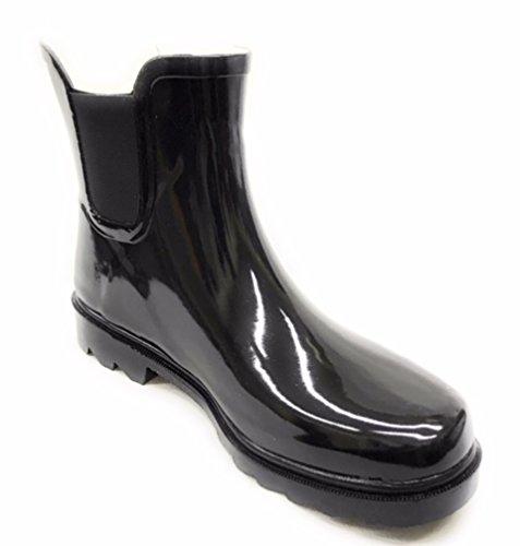 Per Sempre Giovane Donna Wellie Rain Boot Nero