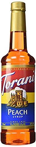 Torani Peach Syrup 750mL