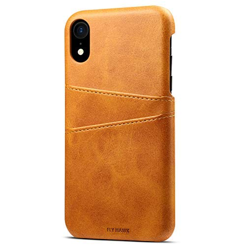 Wallet Case Compatible 2018 iPhone XR/ 10R, 6.1 inches Slim PU Leather Back Case Cover Credit Card Holder Khaki