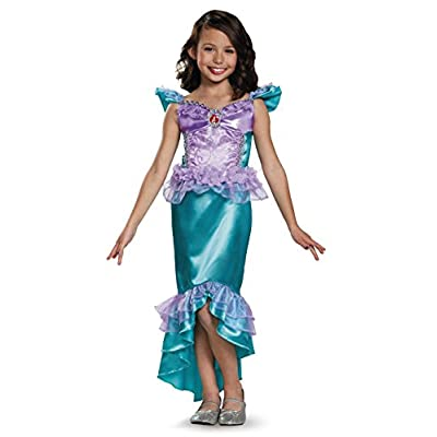Ariel Classic Disney Princess The Little Mermaid Costume, X-Small/3T-4T: Toys & Games