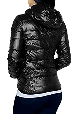 Casual Active Hooded Down Feather Light Weight Vest & Jacket For Women