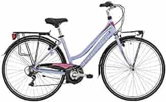 Bottecchia de Bicicleta para Mujer 28 Dos Tubos 200 ty21 de 6 V Blanco Morado: Amazon.es: Deportes y aire libre
