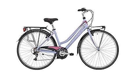 Bottecchia Bici Bicicletta Donna 28 Due Tubi 200 Ty21 6v Bianco