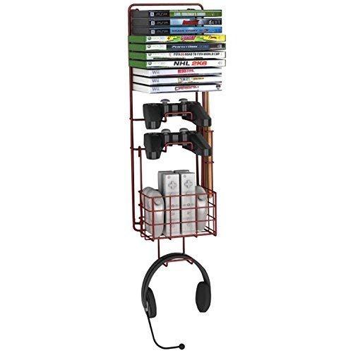 Atlantic Wall Mount Game Rack by ()