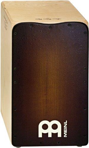 Meinl Percussion AE-CAJ3 Solea Line Artisan Edition Flamenco Birch Cajon, Espresso Burst by Meinl Percussion