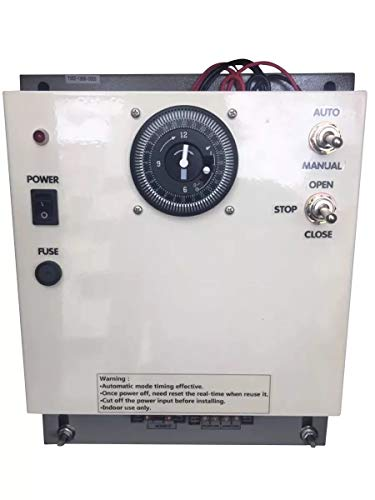 TIRUSS Greenhouse DC Ventilation Motor Timing Controller 300W can Controller 1-4 Sets roll up Motor