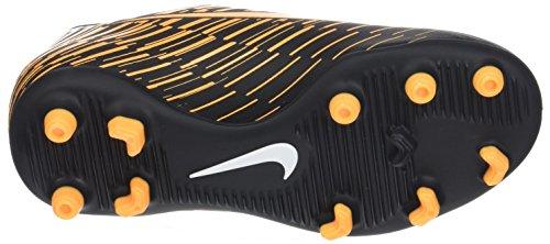 Nike Jr Bravata II FG, Botas de Fútbol Para Niños Negro (Black/Laser Orange)