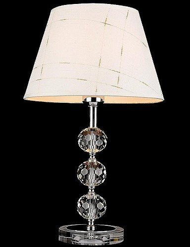 DXZMBDM® Lampade da tavolo, 1 Luce, Artistici tessuto Acciaio inossidabile Placcatura Mesh , 220-240v-bianca
