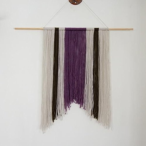 Amazon.com: Boho yarn wall hanging-Yarn wall hanging-Wall Decor ...