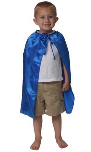 Kids 20″ Superhero Satin Cape (Choose Color)