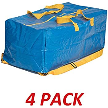 Amazon Com Ikea 901 491 48 Frakta Storage Bag Blue 4