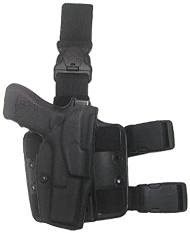 Safariland 6355 Black Glock 17, 22 ALS Automatic Lock Quick Release Leg Harness Tactical Gun (6355 Holster)