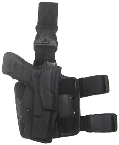 Safariland Standard Key (Safariland 6355 Black Sig P228, P229 ALS Automatic Lock Quick Release Leg Harness Tactical Gun Holster, Right Handed)