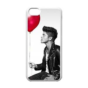 Hjqi - DIY Bruno Mars Cover Case, Bruno Mars Customized Case for iPhone 5C