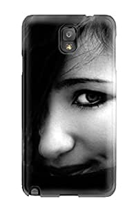 New EZDzjrH3077yRUcQ Girl With Pretty Eyes Skin Case Cover Shatterproof Case For Galaxy Note 3