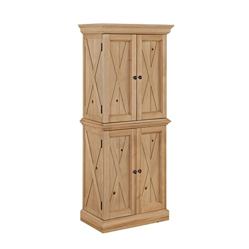 Home Styles  Country Lodge Pantry, Honey Pine Finish ()