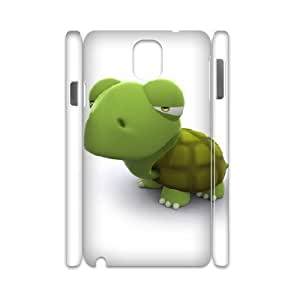 3D Samsung Galaxy Note 3 Cases 3d Green Turtle, Samsung Galaxy Note 3 Cases - [White] Bloomingbluerose
