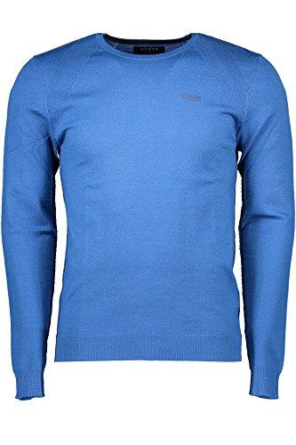 Hombre Térmica Azul D709 GUESS para Camiseta qtR5w5Axp