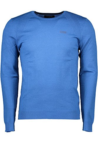 D709 Térmica GUESS para Hombre Azul Camiseta Z17ZUqc6p