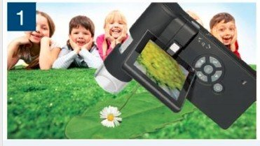 3.0'' LCD Digital Mobile Microscope/maginifier with Build-in Screen,500x by WIN.MAX (Image #3)