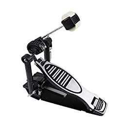 Bass drum pedal, load-bearing double-chain drum single step on hammer, step on hammer jazz drum pedal, step on mallet…