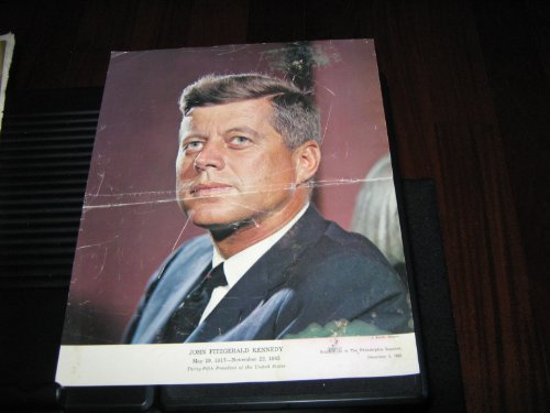 - President John F. Kennedy Memorabilia...Record , Posters , Pharmascope Report (The Voice Of President John F. Kennedy ...A Memorial Record , JFK Poster , RFK Poster , JFK Reports Worth Repeating, December 1 , 1963 , June 16 , 1968 , April 14 , 1972 , January 20 , 1961)