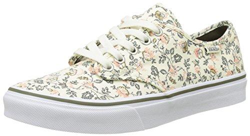 Vans Wm Camden Stripe, Zapatillas para Mujer Hueso (Vintage Floral)