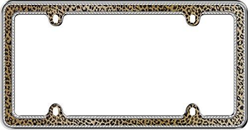 Cruiser Accessories 18517 Leopard Bling, Chrome/Gold/Black/Clear (Burch Leopard Print)
