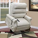 36 Series 3 Position Lift Chair with Extra Magazine Pocket Upholstery: Bella Crypton - Storm, Moveable Infrared Heat: Yes, Vibration and Heat: 4 Vib/Heat