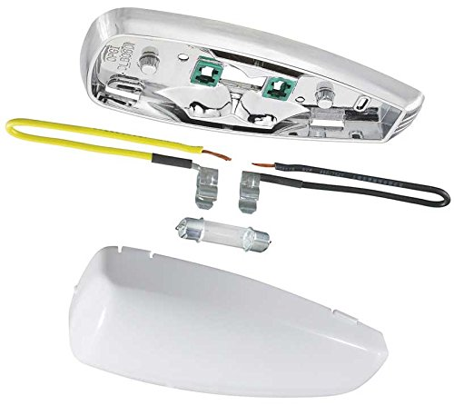 Interior Dome Lamp Assembly (Base, Lens, Bulb & Wire Leads) Dome Lamp Assembly