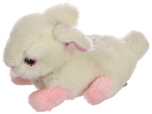 Multipet's Look Who's Talking Plush Talking Rabbit Dog Toy, 6-Inch