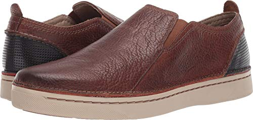 CLARKS Men's Kitna Easy Tan Leather 10.5 D US
