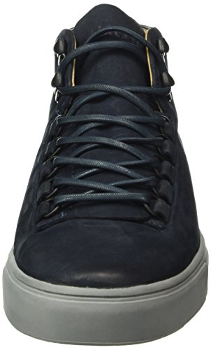 Blackstone Mm32, Sneaker Alte Uomo Blu (Navy)