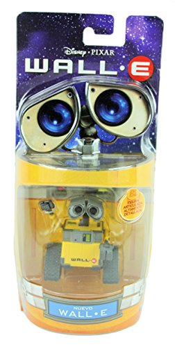 (Wall-E Disney Pixar 6Cm Action Figure - Very Rare Mint In Packet)