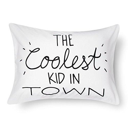 Coolest Kids in Town Pillowcase (Standard) White - Pillowfort™