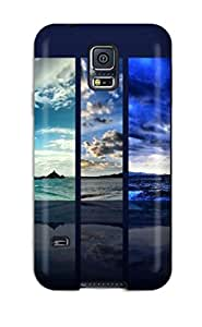 ZKKhdqf3830LjOnI Faddish Simple Planand Screensavers Case Cover For Galaxy S5