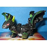 Bakugan Gundalian Darkus (Black) Dharak 610G New Loose Figure (W/ DNA) [Toy]