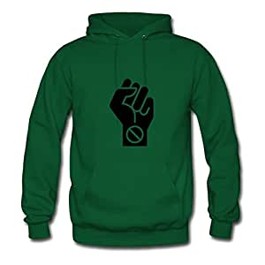 Women Boycott Sweatshirts -x-large Creative Painting Green