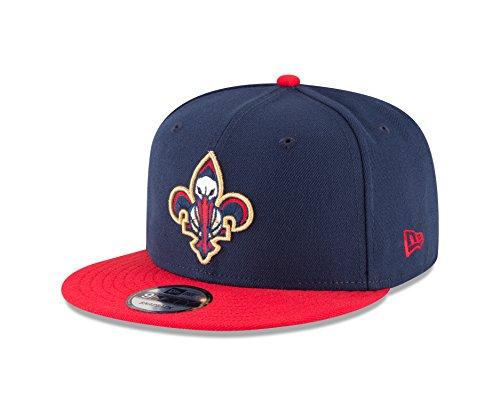 NBA New Orleans Pelicans Men's 9Fifty 2Tone Snapback Cap, One Size, Navy
