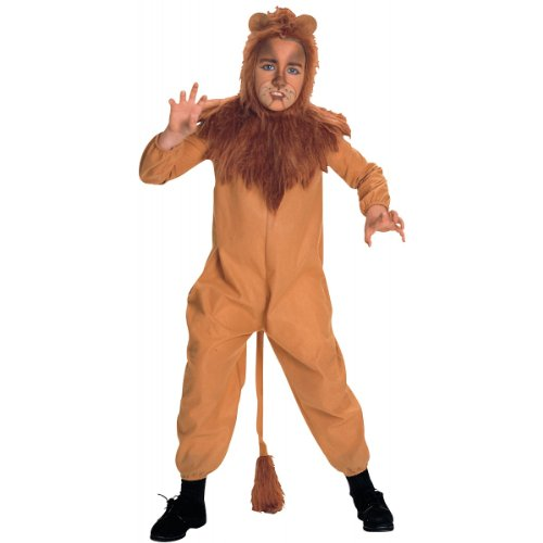 Wizard Of Oz Cowardly Lion Baby Costumes (Wizard of Oz Child's Cowardly Lion Costume, Medium)