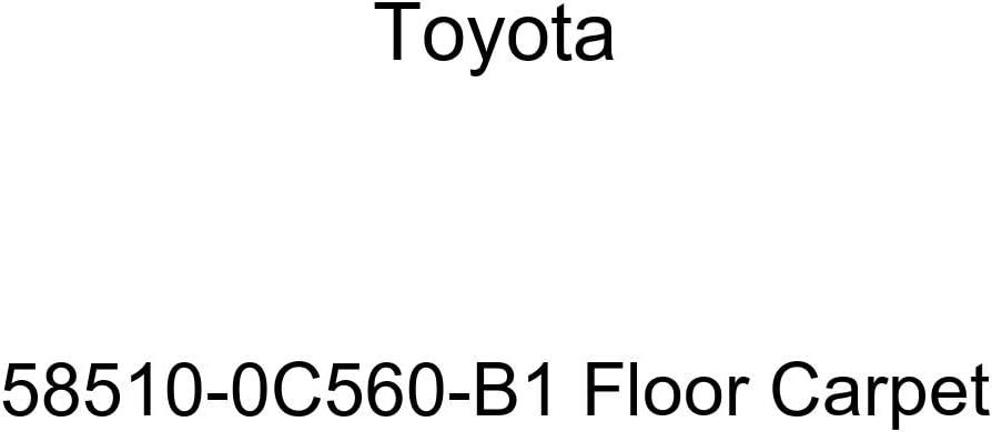 TOYOTA Genuine 58510-0C560-B1 Floor Carpet