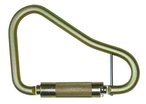 (FallTech 8447 Steel Carabiner - Large Twist Lock, 2 1/4