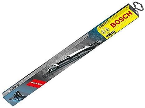 Bosch Twin 604S 3397118303 Discos Limpiaparabrisas Frontal Delantero Juego para limpiaparabrisas con spoiler: Amazon.es: Coche y moto