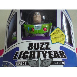 Toy Story Collection: Buzz Lightyear Action Figure by Thinkway Toys -- 12''
