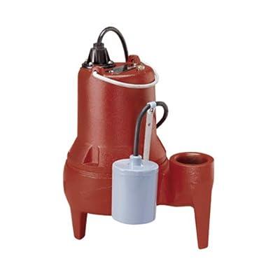 Liberty Pumps LE51A 1/2-Horse Power 2-Inch Discharge LE50-Series Submersible Automatic Sewage Pump