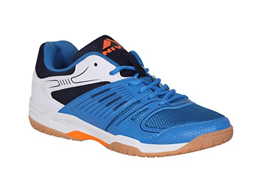 NIVIA Polyester Gel Verdict Badminton Shoes (Blue) Price & Reviews